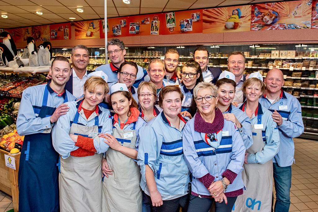 Albert Heijn Jos van den Berg Team