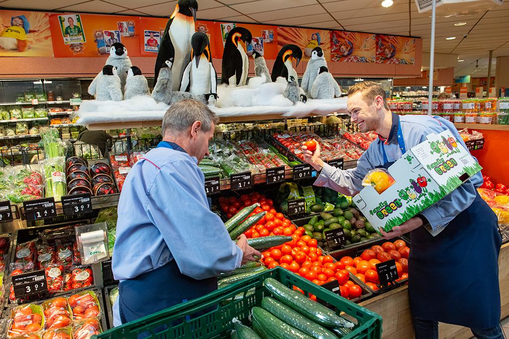 Albert Heijn Jos van den Berg Groente Fruit