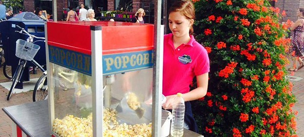 28 september gratis popcorn
